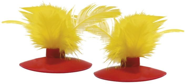 Kong Glide'n Seek náhradní peříčka do hračky 2ks