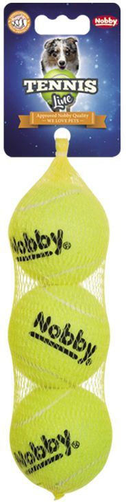 Nobby tenisový míček 6cm 3ks