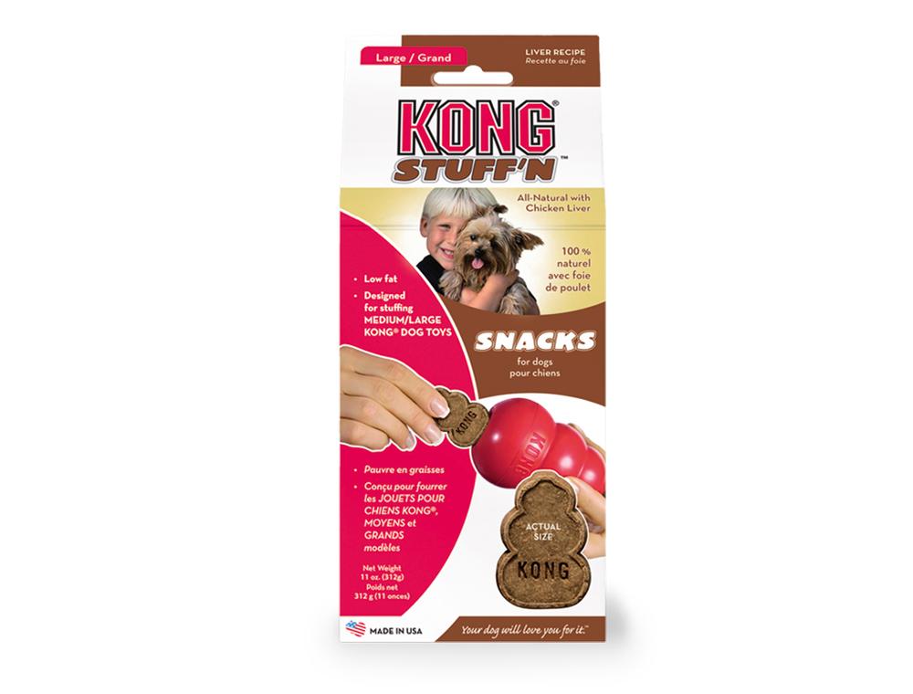 Kong Stuff'n Snacks játra Large 312g