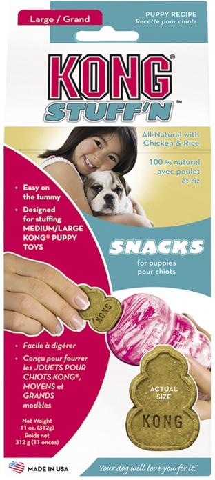 Kong Snacks Puppy pamlsek pro štěňata 312g