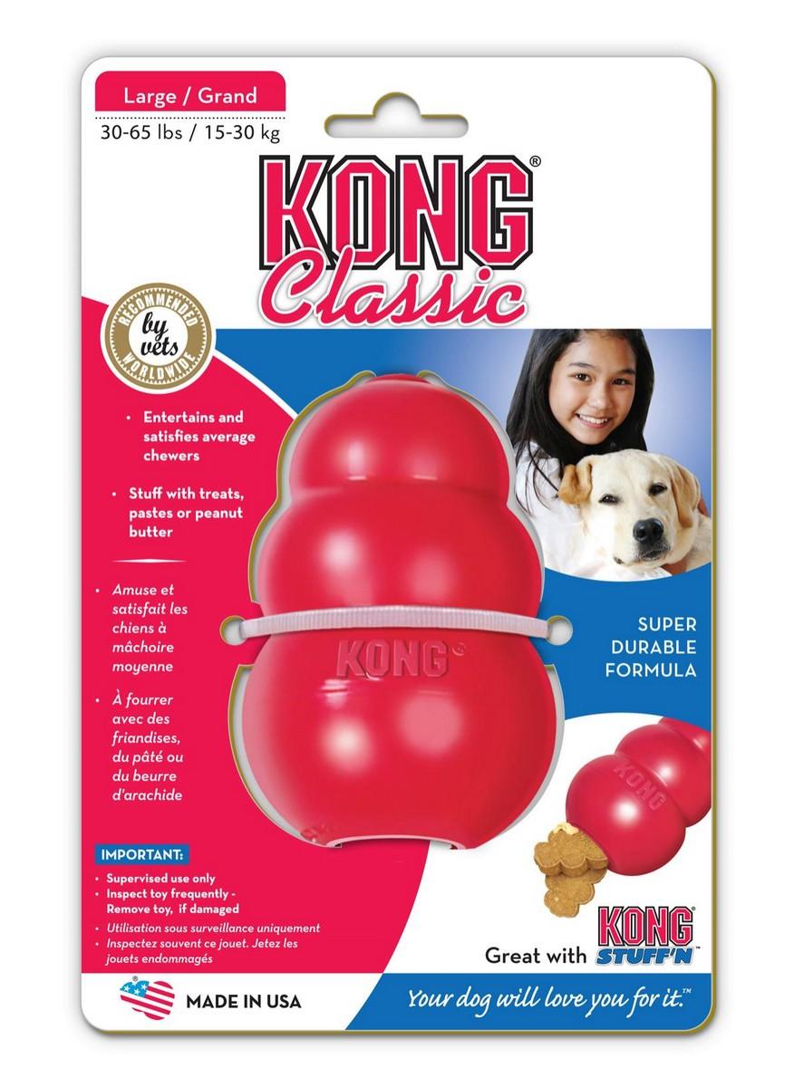 Kong Classic Large hračka granát 10cm / 240g