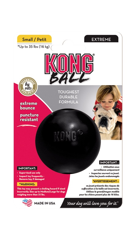 Kong Extreme Ball Small odolný míček 6cm
