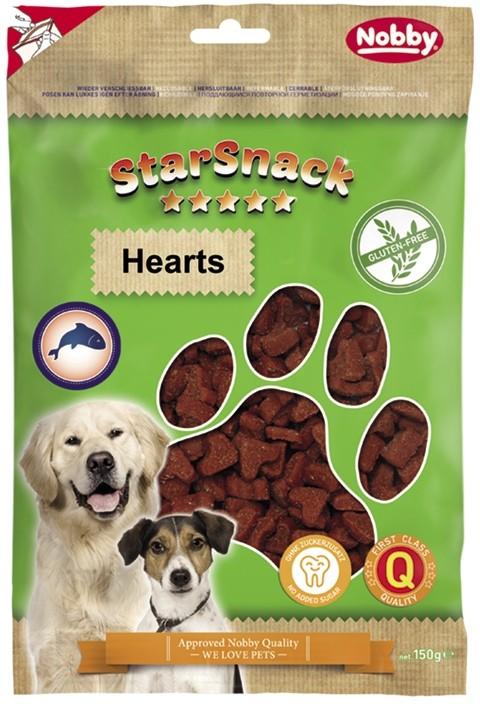 Nobby StarSnack Hearts GLUTEN FREE bezlepkové pamlsky srdíčka 150g
