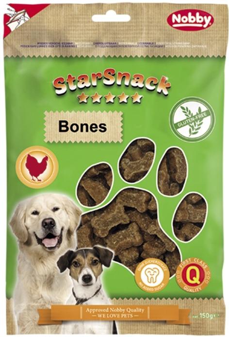 Nobby StarSnack Bones GLUTEN FREE bezlepkové pamlsky kostičky 150g