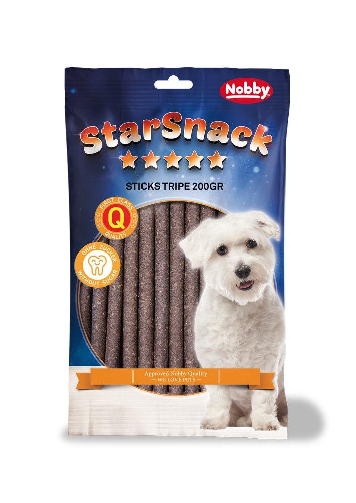 Nobby StarSnack Sticks dršťky tyčinky 20ks / 200g