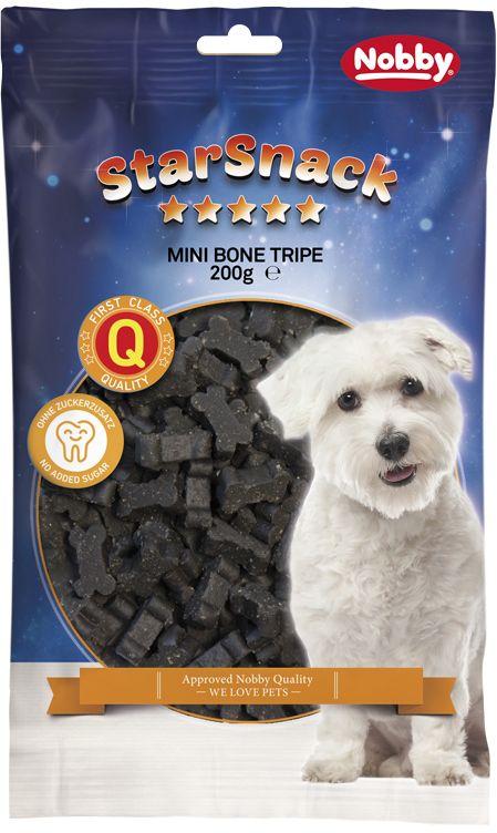 Nobby StarSnack Mini Bones dršťky kostičky 200g