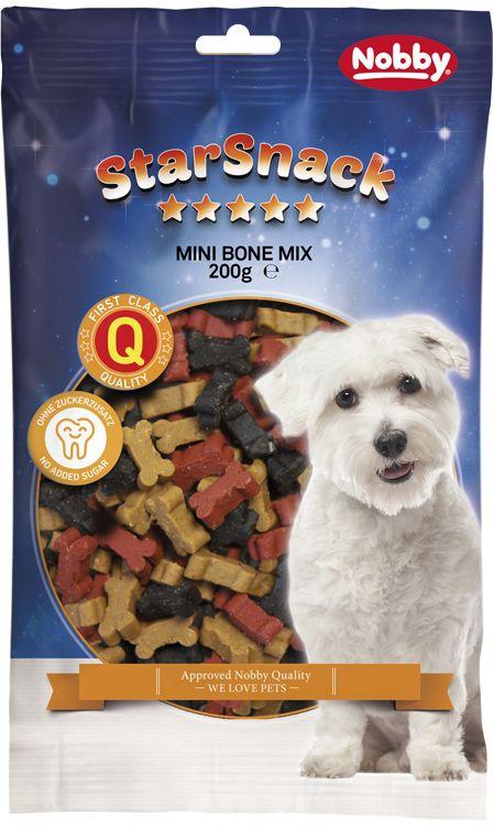 Nobby StarSnack Mini Bones Mix pamlsek kostičky 200g