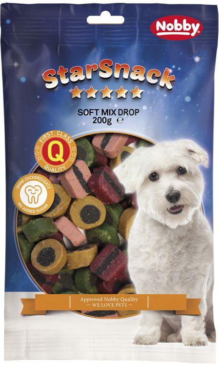 Nobby StarSnack Soft Mix Drop měkké odměny 200g