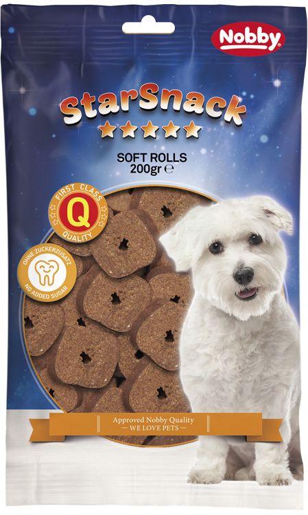 Nobby StarSnack Soft Rolls měkké odměny 200g