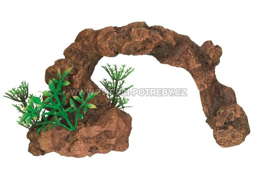 Nobby akvarijní dekorace skalní oblouk 16,5 x 6,5 x 9,5 cm