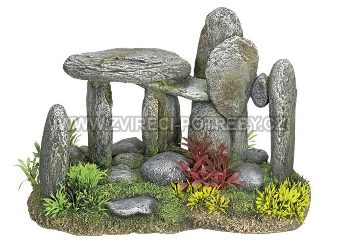 Nobby akvarijní dekorace poskládané kameny 28 x 16,5 x 19 cm