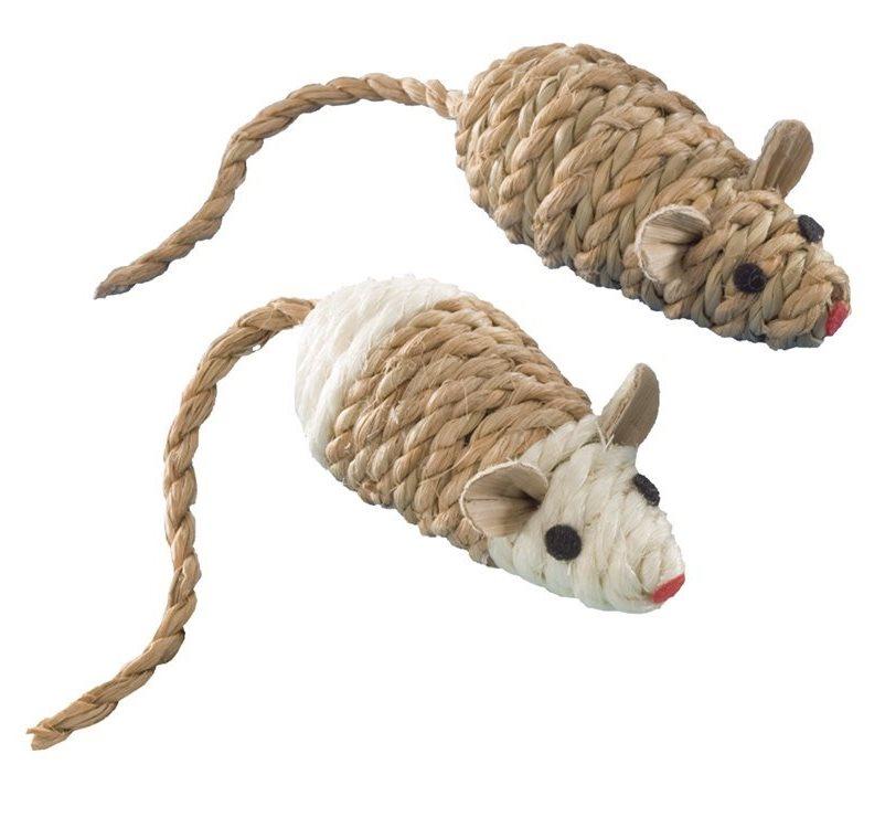 Nobby hračka sisalové myšky 8cm 2ks