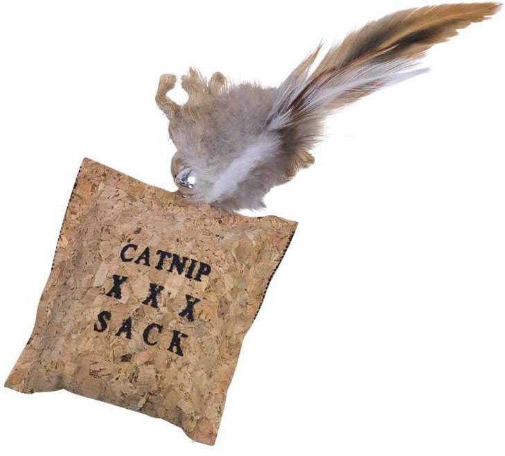 Nobby hračka pro kočky korkový polštářek 8/20 cm