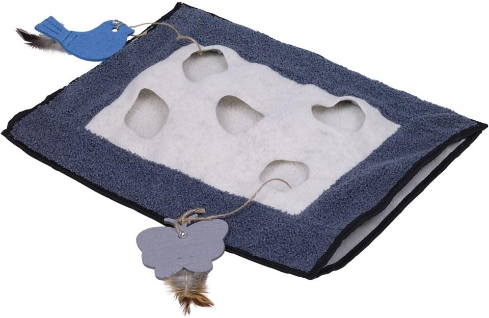 Nobby aktivní hračka pro kočku dečka s úkrytem 46x37cm