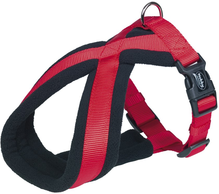 Nobby CLASSIC COMFORT postroj do X 20-30cm červená