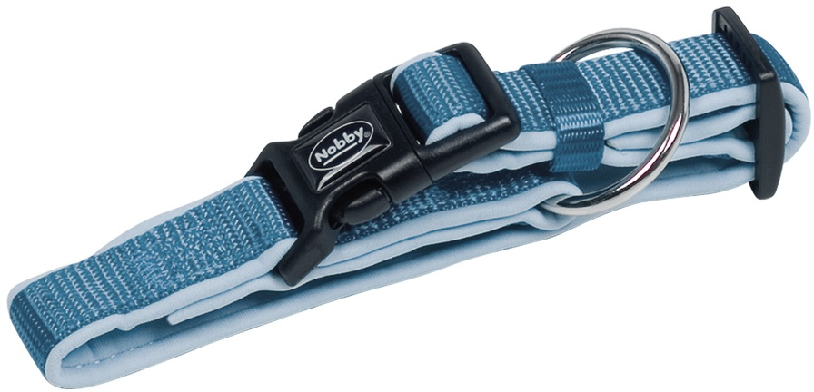 Nobby CLASSIC PRENO obojek neoprén světle modrý XS 20-30cm