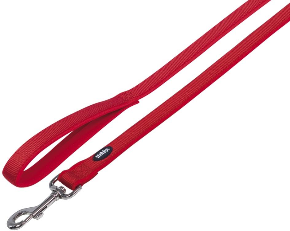 Nobby CLASSIC PRENO vodítko neoprén XS/S 120cm červené