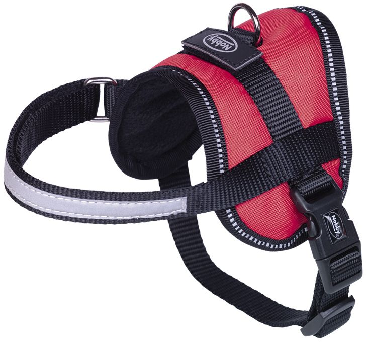 Nobby Seguro Mini bezpečnostní postroj pro psa S červená 31-40cm