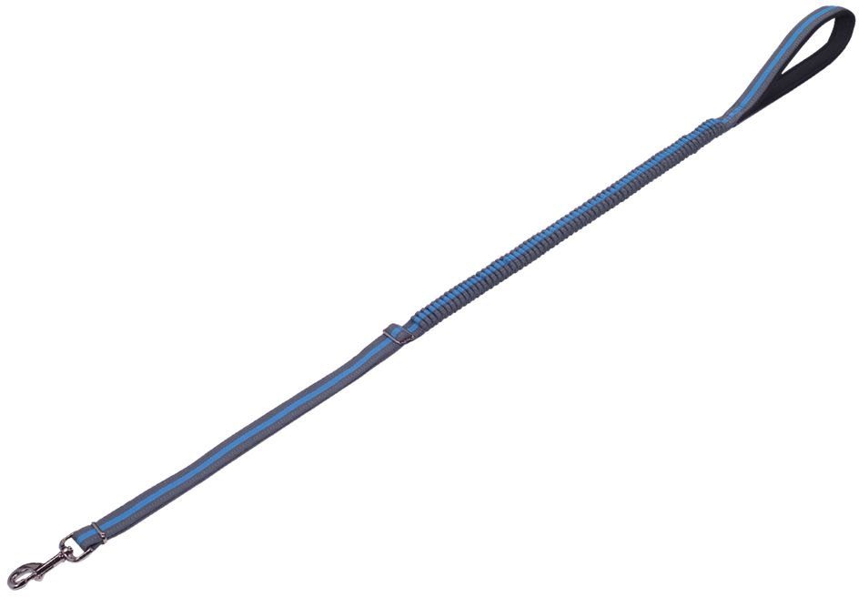 Nobby VARIADO vodítko s amortizérem L-XL 110-140cm modrá