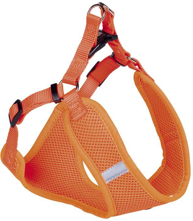 Nobby hrudní postroj M neon oranžová