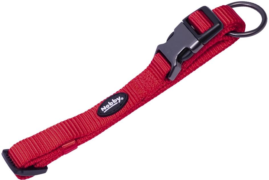 Nobby CLASSIC COMFORT obojek nylon červený M-L 50-65cm