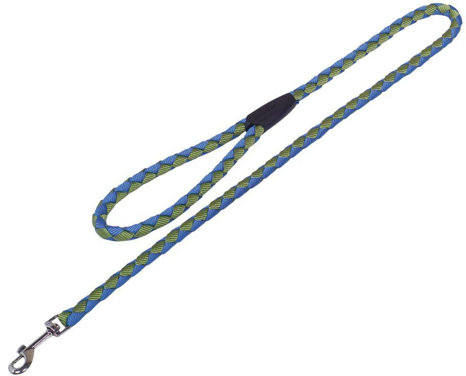 Nobby CORDA kulaté vodítko S-M 100m/12mm zelená