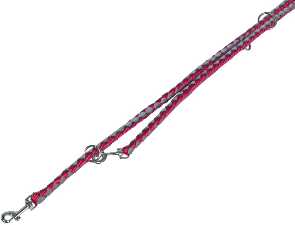 Nobby CORDA kulaté přepínací vodítko S-M 200m/12mm červená