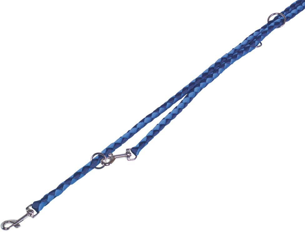 Nobby CORDA kulaté přepínací vodítko L-XL 200m/18mm modrá