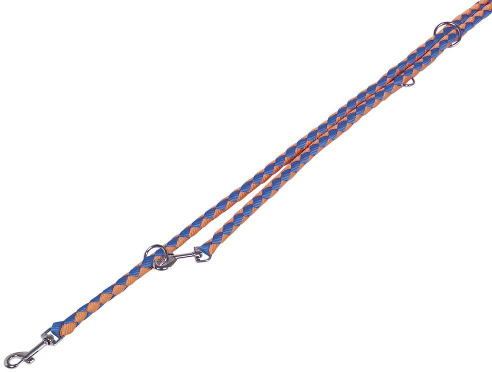 Nobby CORDA kulaté přepínací vodítko L-XL 200m/18mm oranžová