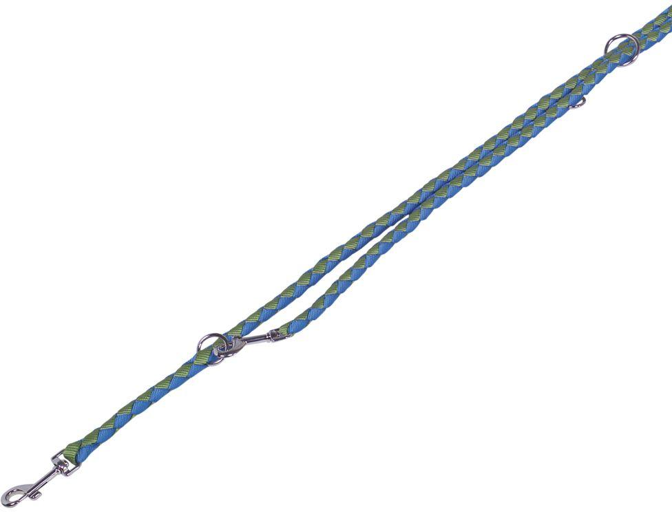 Nobby CORDA kulaté přepínací vodítko L-XL 200m/18mm zelená