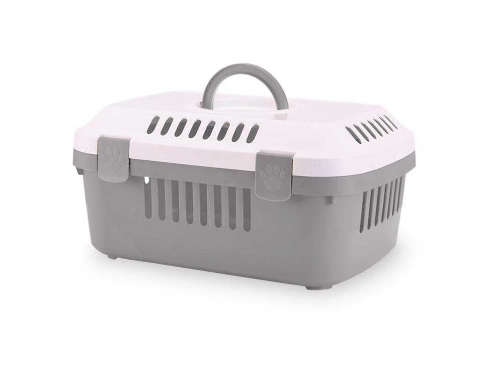 Savic Discovery Compact přepravka 48,5x33x23,5 cm šedá