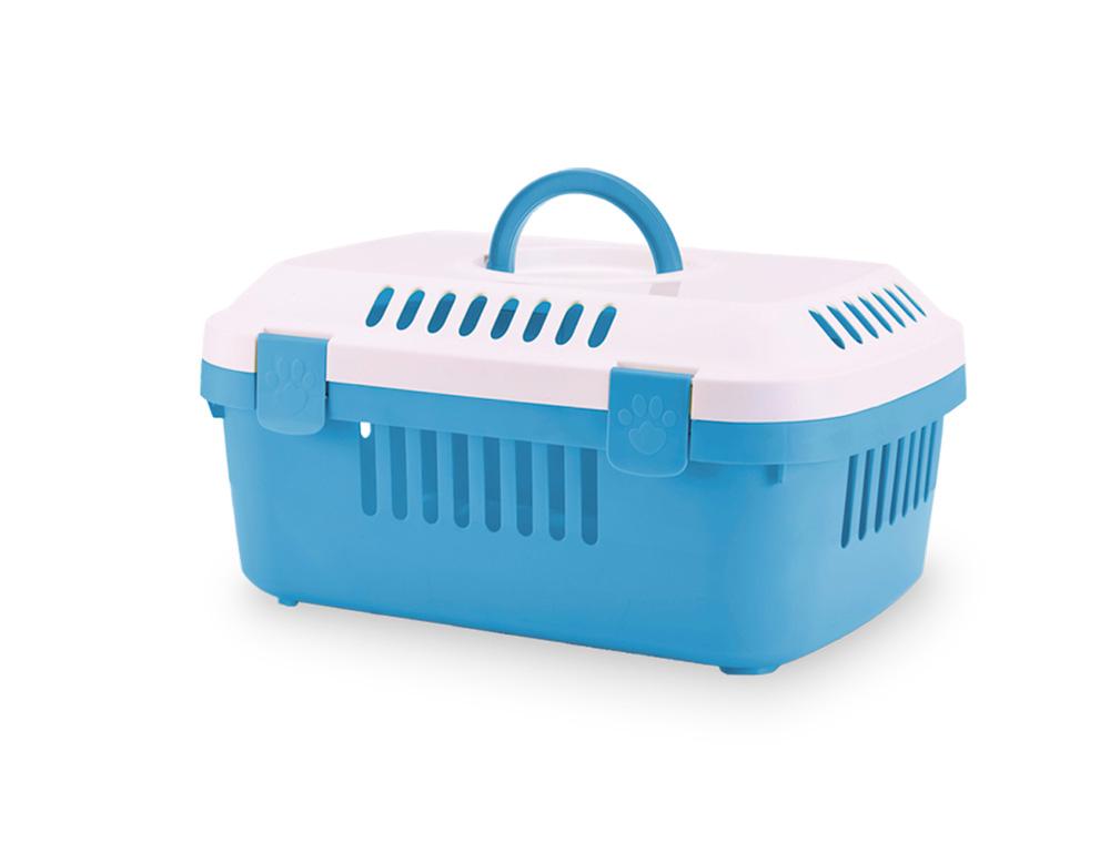 Savic Discovery Compact přepravka 48,5x33x23,5 cm modrá