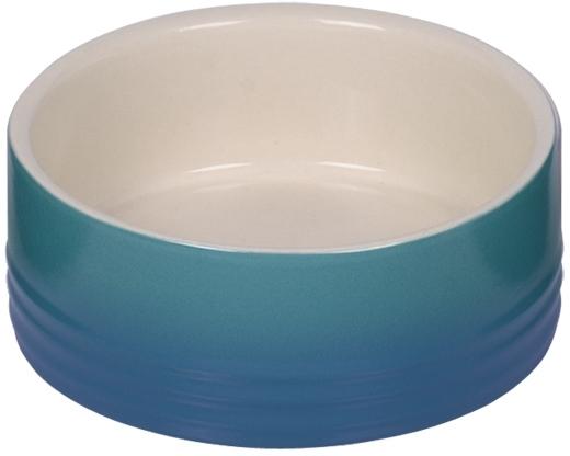 Nobby keramická miska GRADIENT modrá 12,0 x 4,5 cm / 0,25 l