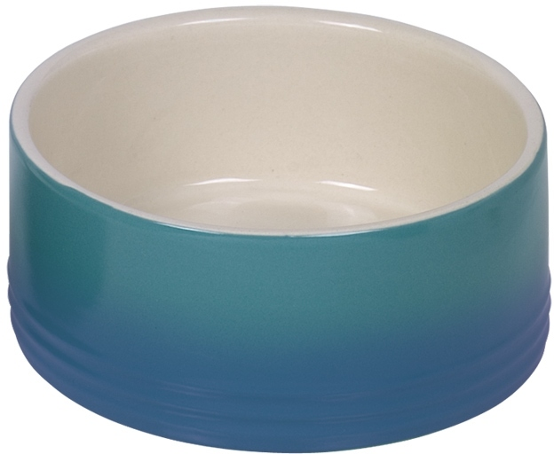 Nobby keramická miska GRADIENT modrá 15,0 x 6,0 cm / 0,55 l
