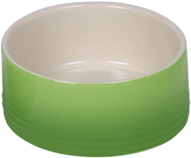 Nobby keramická miska GRADIENT zelená 15,0 x 6,0 cm / 0,55 l