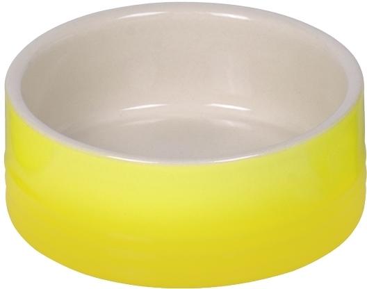 Nobby keramická miska GRADIENT žlutá 12,0 x 4,5 cm / 0,25 l
