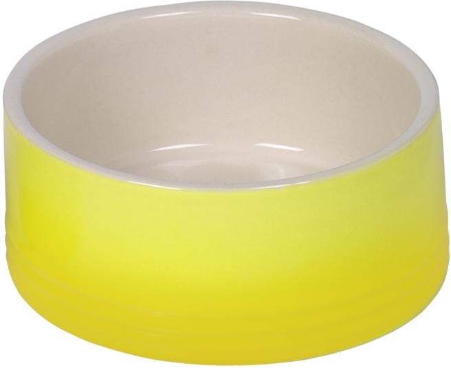 Nobby keramická miska GRADIENT žlutá 15,0 x 6,0 cm / 0,55 l