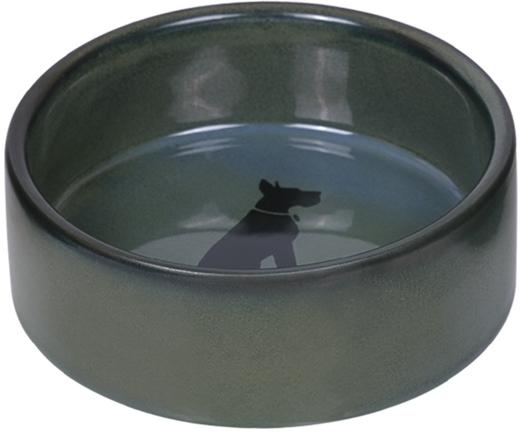 Nobby keramická miska EFFECT zeleno-modrá lakovaná 12,0 x 4,5 cm / 0,25 l