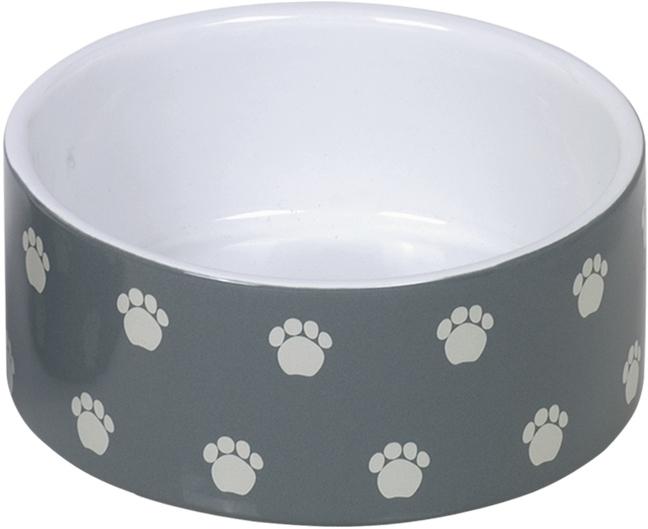 Nobby keramická miska PATA šedá 15,0 x 6,0 cm / 0,55 l
