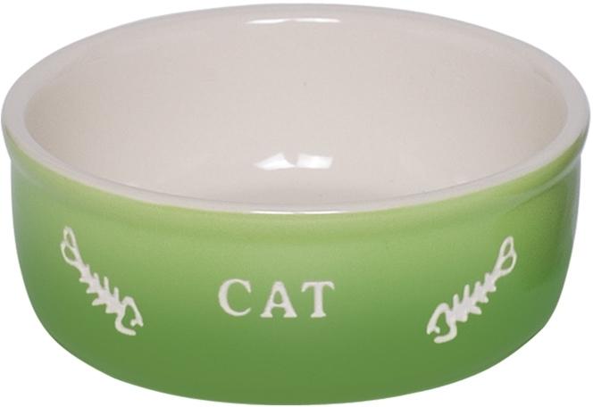 Nobby GRADIENT keramická miska pro kočky zelená 13,5x4,5cm/0,25l