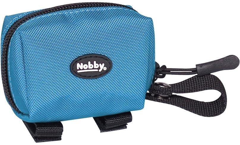 Nobby RIO zásobník na sáčky modrý 7,5 x 4 x 5 cm