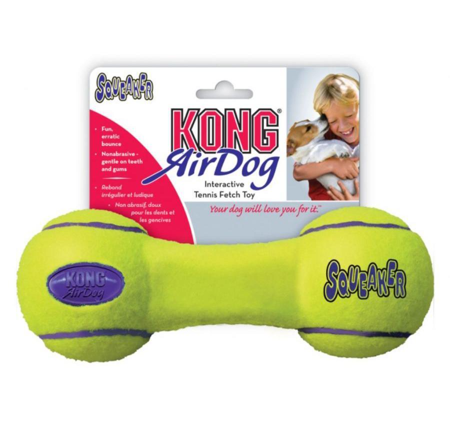 Kong AirDog Small tenisová činka 13cm