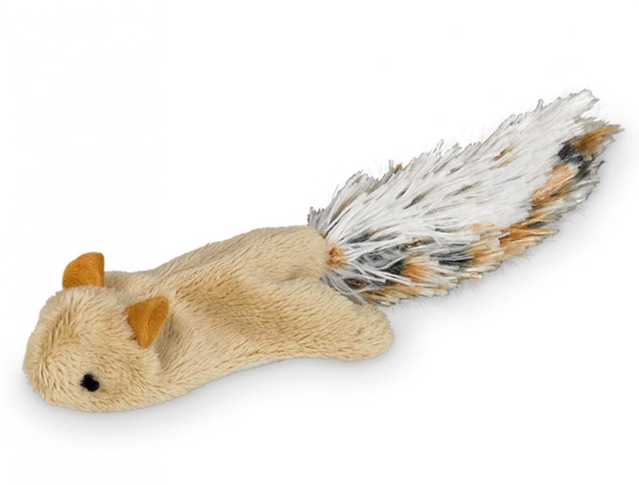 Nobby plyšová veverka šustivé tělo 18 cm