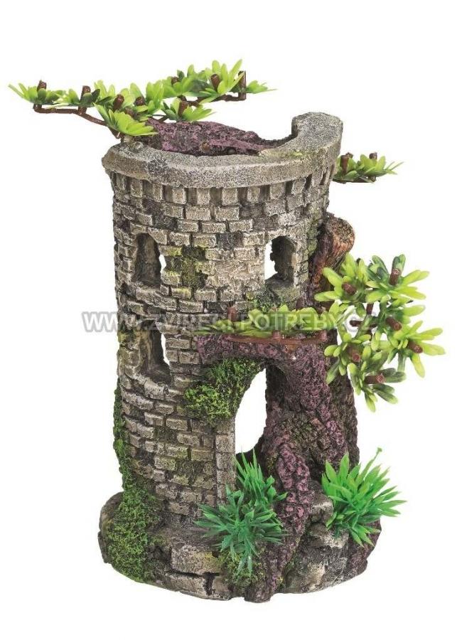 Nobby akvarijní dekorace věž 9 x 10 x 15 cm