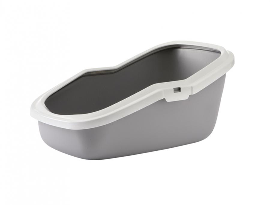 Savic Aseo šedá toaleta 56 x 39 x 27,5 cm
