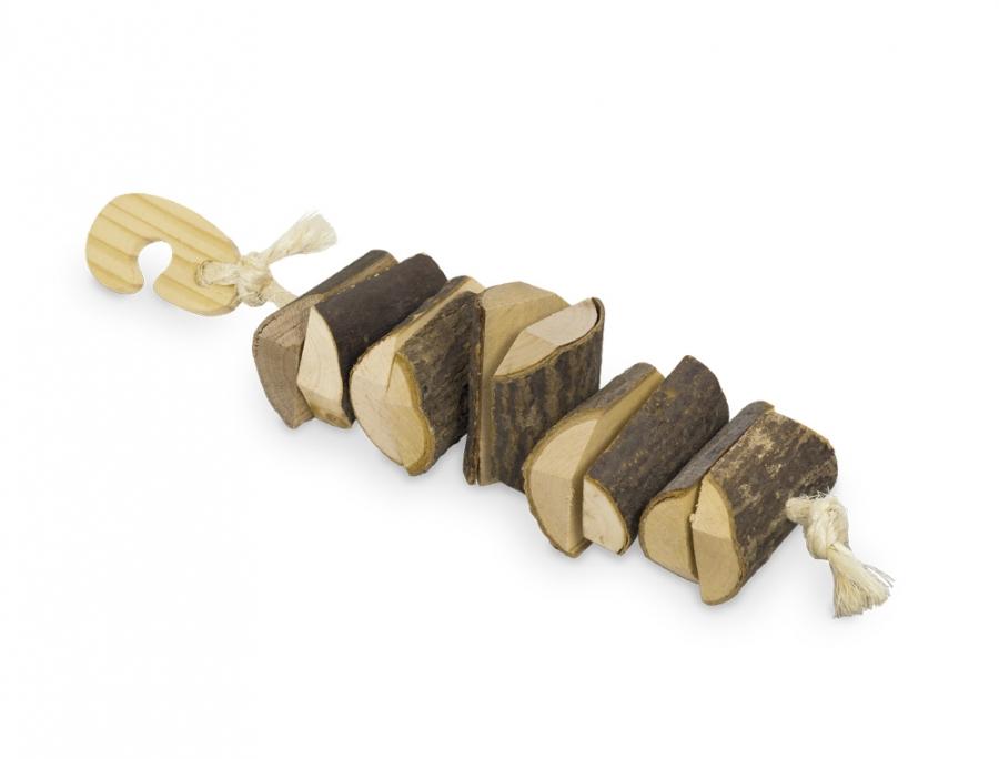 Nobby dřevěná hračka pro hlodavce 25x5 cm