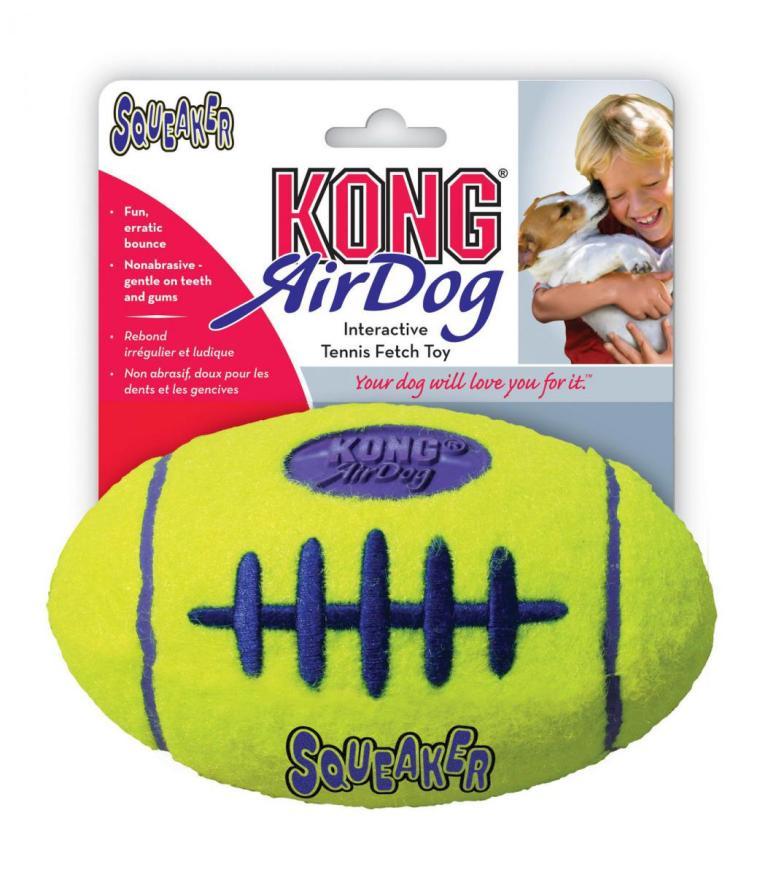 Kong AirDog Football Large tenisová hračka 17cm