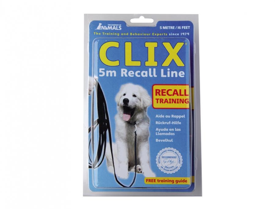 Animals Clix stopovací vodítko pro psa 10m 15mm