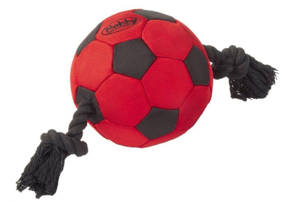 Nobby TAFFTOY míč s lanem nylon 35cm