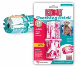 Kong Puppy Dental Stick Medium dentální hračka 9cm